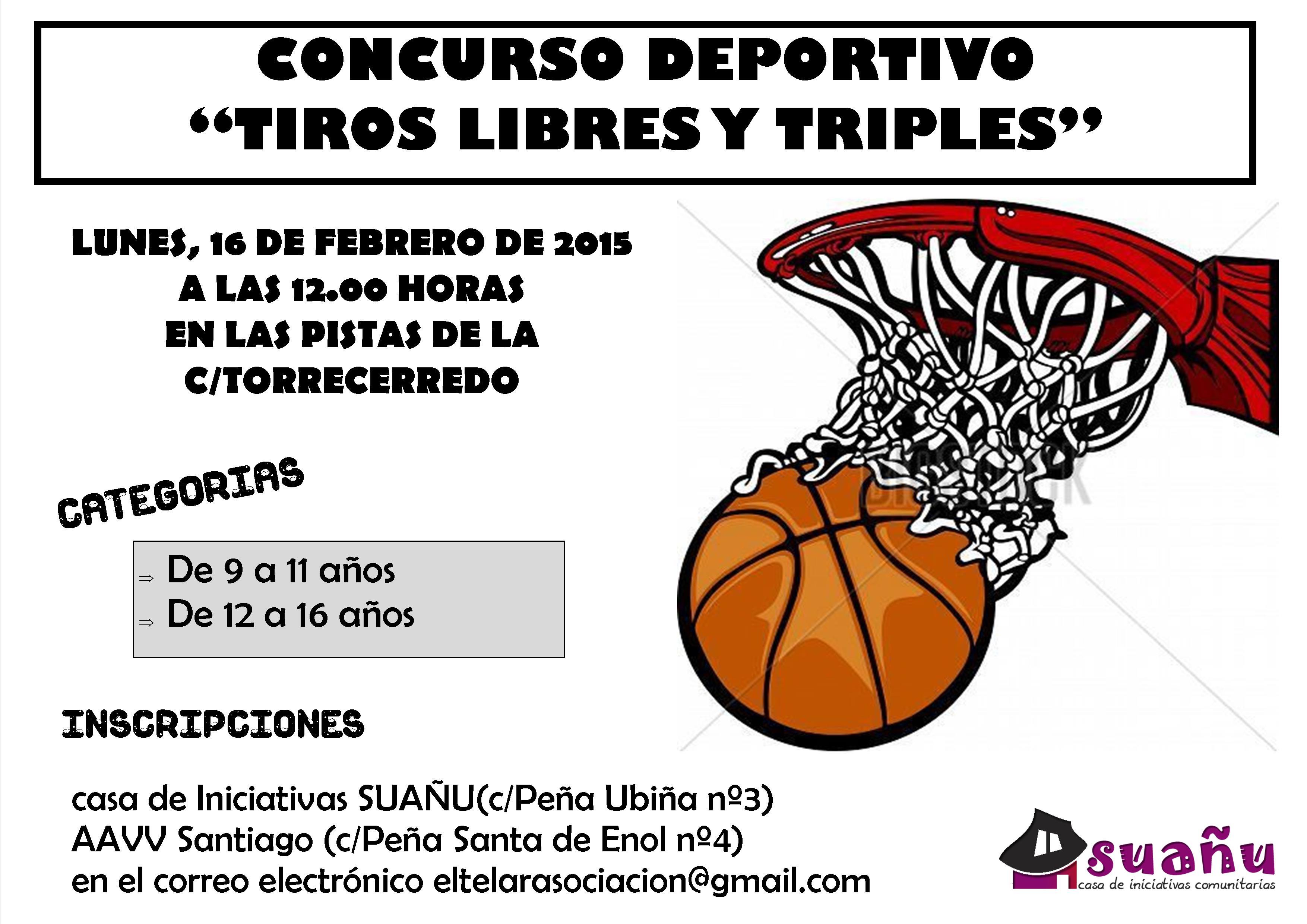 cartel torneo de basket