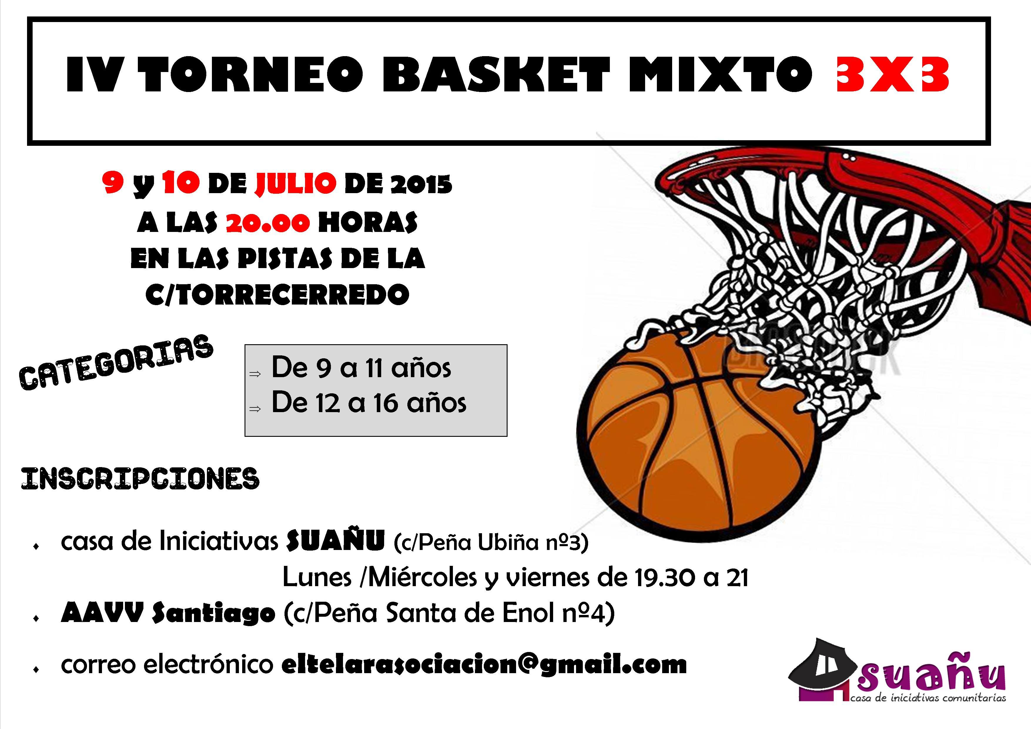cartel torneo de basket julio 2015